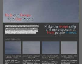 #7 para Website Design for Spirit of America de CHEWX
