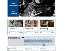 #45 para Website Design for Spirit of America de nepalbanda44