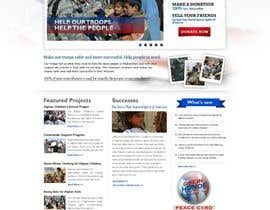 #48 dla Website Design for Spirit of America przez bijucre8tive