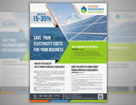 #28 for Design a Flyer for Renewable energy comapny by mdreyad1656