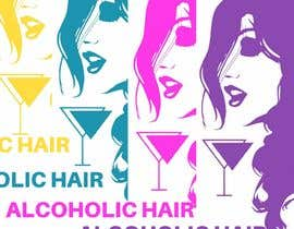 #60 for Design a Logo for Alcoholic Hair by janainabarroso