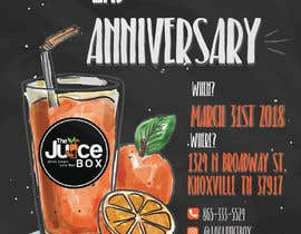 #138 for Java juice box 2 yr anniversary by farfalli