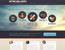 #1 para Wordpress Theme Design for Specialized Roofing & Contracting Inc. por andrewnickell