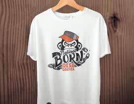 #16 for T-shirt / logo design by RibonEliass