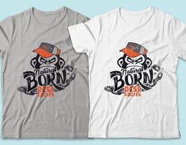 #20 for T-shirt / logo design by RibonEliass