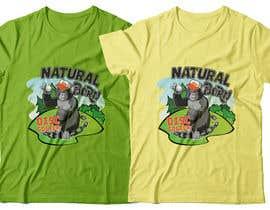 #62 for T-shirt / logo design by RibonEliass