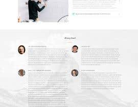 #8 for Design a mock for one page website by rajaaleb
