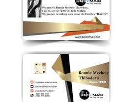 #4 for design 4X6 business cards for a residential Maid Service by mdnayeem422