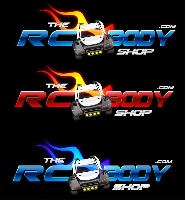 Bài tham dự cuộc thi #                                        61                                      cho                                         Logo Design for The RC Body Shop - eBay