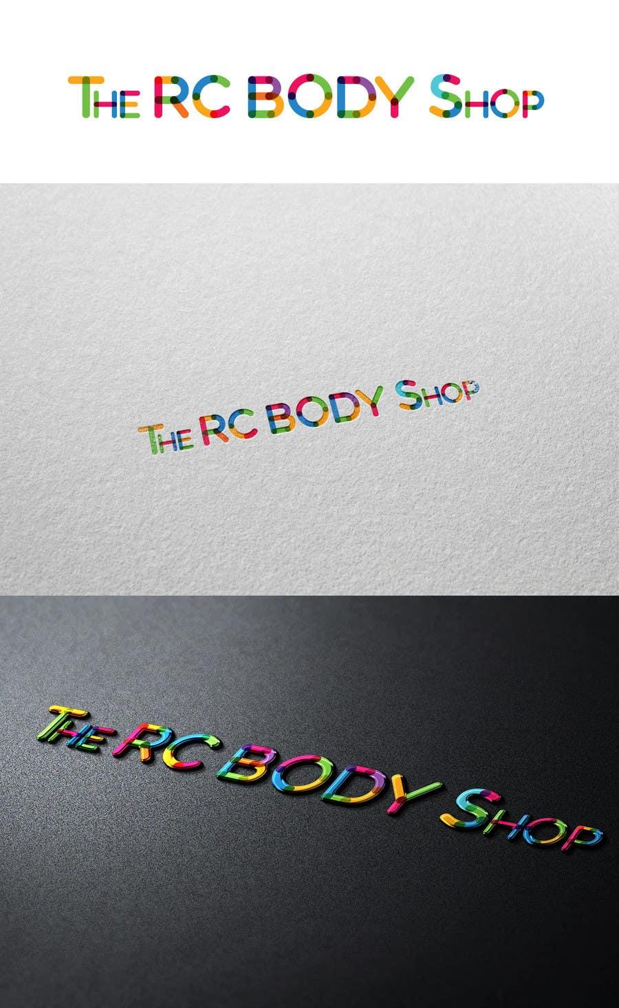Bài tham dự cuộc thi #                                        29                                      cho                                         Logo Design for The RC Body Shop - eBay