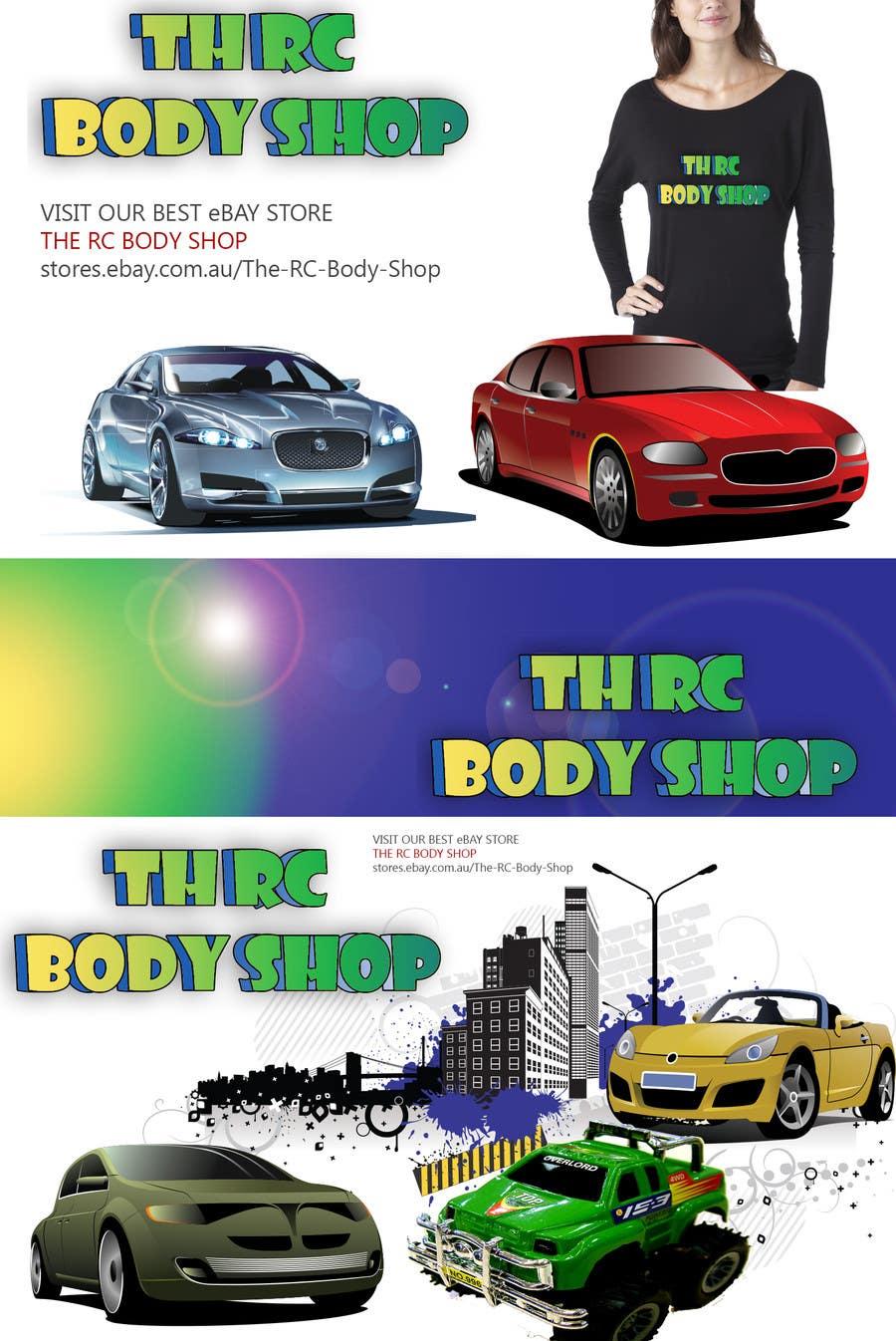 Bài tham dự cuộc thi #                                        75                                      cho                                         Logo Design for The RC Body Shop - eBay