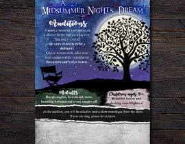 #33 for Midsummer Night's Dream Audition flyer by oscarhurtadomat