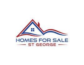 """Nro 121 kilpailuun Design a Logo for """"Homes For Sale St George"""" käyttäjältä hanifkhondoker11"""