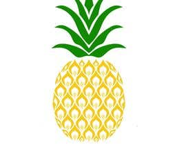 #24 for I need you to make a simple design of a pineapple. It doesnt really need to much detail. Just have a yellow pineapple with a green top (leaves). by saranyats