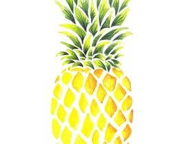 #17 for I need you to make a simple design of a pineapple. It doesnt really need to much detail. Just have a yellow pineapple with a green top (leaves). by dcarolinahv