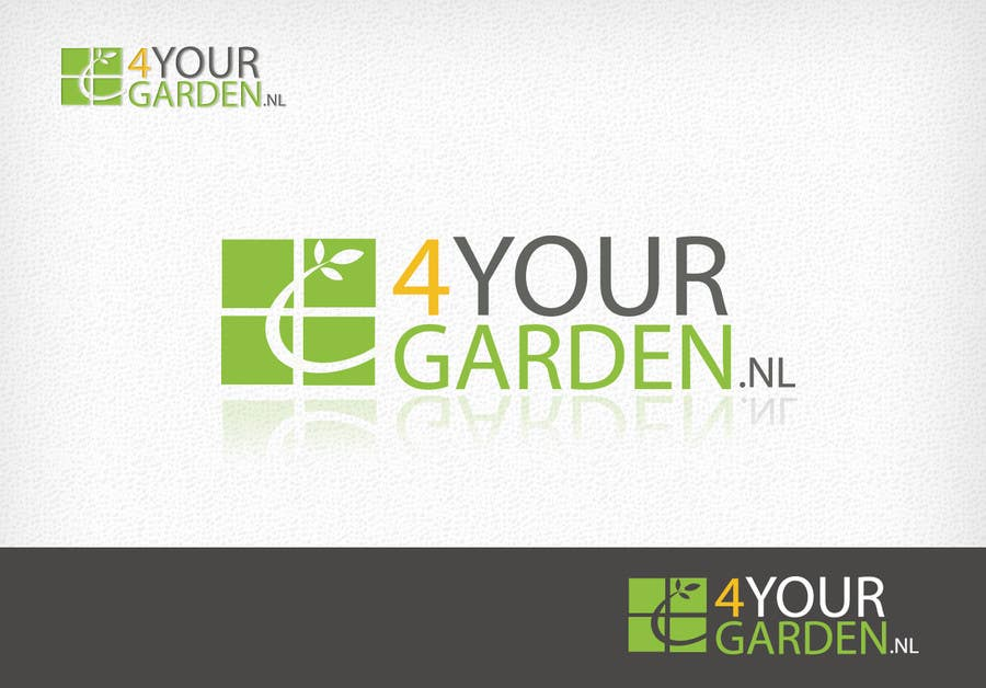 Penyertaan Peraduan #232 untuk Logo Design for 4yourgarden.nl