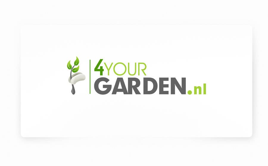 Penyertaan Peraduan #206 untuk Logo Design for 4yourgarden.nl