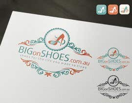 topcoder10 tarafından Logo Design for Big On Shoes için no 322