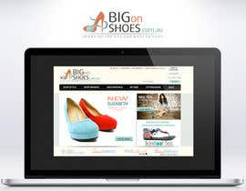 topcoder10 tarafından Logo Design for Big On Shoes için no 255