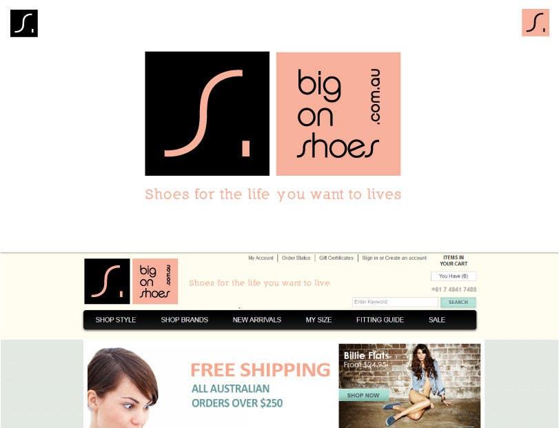 Inscrição nº 278 do Concurso para Logo Design for Big On Shoes