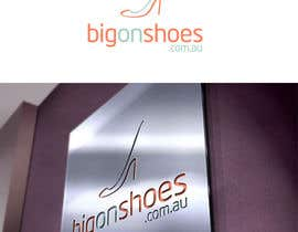 nº 55 pour Logo Design for Big On Shoes par gfxbucket