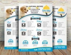 #99 for Design a One-Page Menu Flyer for PET Food af jovanastoj