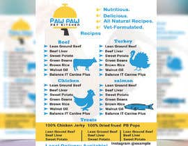 #110 for Design a One-Page Menu Flyer for PET Food af ranamdshohel393