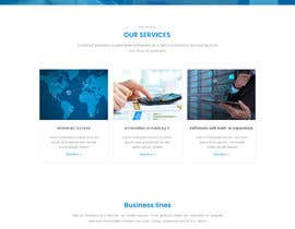 #18 for Design and build a website (landing page) for a company. Multilanguage by stylishwork