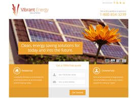 #65 untuk Website Design for Vibrant Energy Solutions oleh andrewnickell