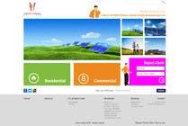 Graphic Design Konkurrenceindlæg #91 for Website Design for Vibrant Energy Solutions