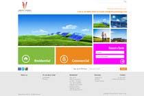 Graphic Design Konkurrenceindlæg #113 for Website Design for Vibrant Energy Solutions