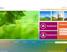 #118 untuk Website Design for Vibrant Energy Solutions oleh jeransl
