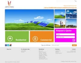 #122 untuk Website Design for Vibrant Energy Solutions oleh jeransl