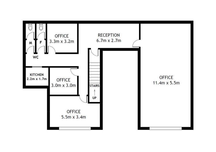 For Simple Floor Plan Redrawn