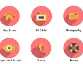 #8 for Drone Applications - ICON DESIGN x 12 af zzzabc