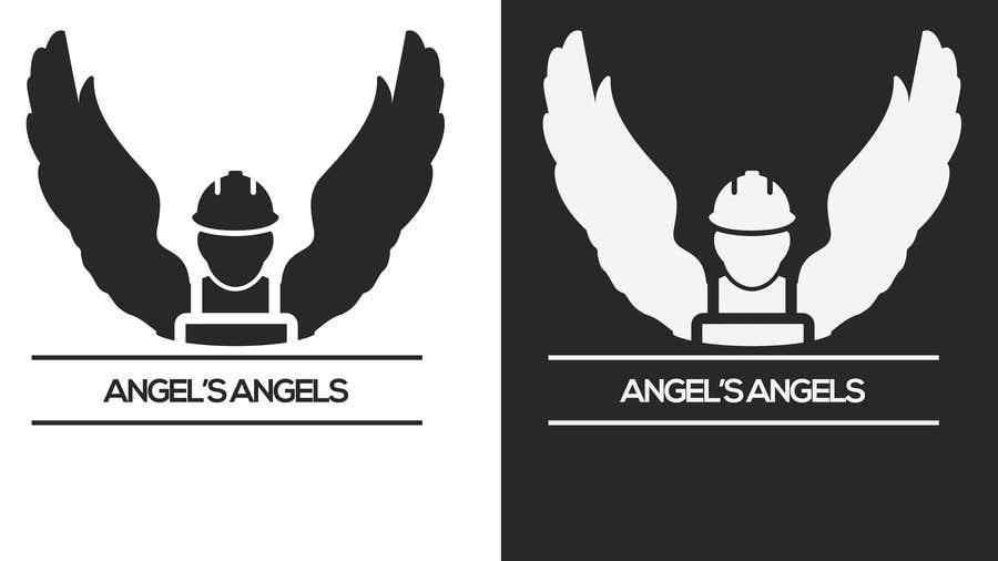 """Inscrição nº                                         15                                      do Concurso para                                         Design a Logo for my handyman business called """"Angel's Angels"""""""