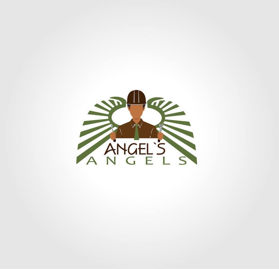 """Inscrição nº                                         16                                      do Concurso para                                         Design a Logo for my handyman business called """"Angel's Angels"""""""