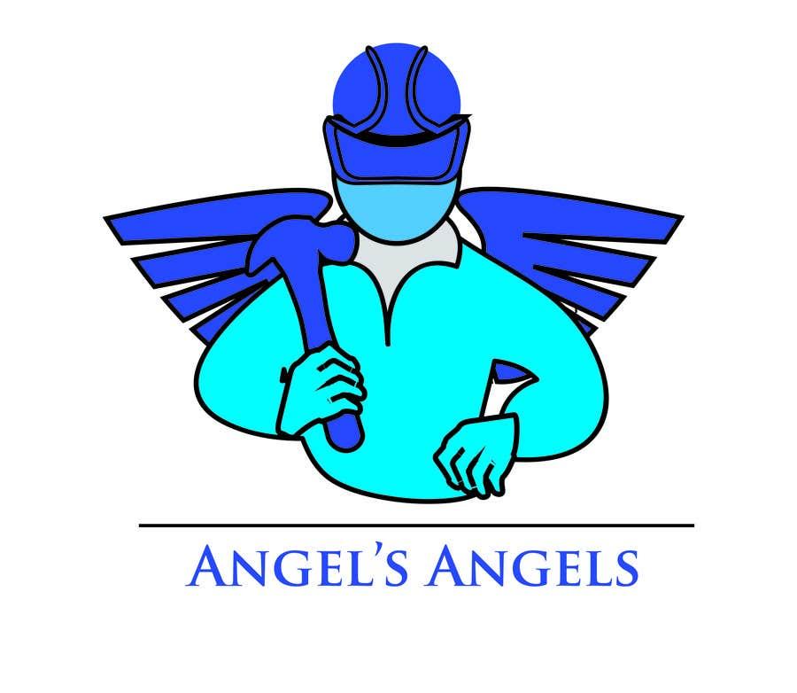 """Inscrição nº                                         11                                      do Concurso para                                         Design a Logo for my handyman business called """"Angel's Angels"""""""
