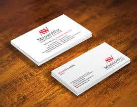#155 for Design some Business Cards by rumon078