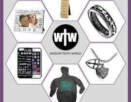 #19 for Design a Flyer for Christian Themed web store af vonnydu