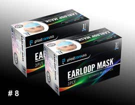 #16 for Need to create box art work for medical mask by sharifessawy