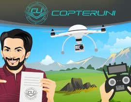 #143 para Design a Banner for a magazine's competition which is about the drone licence de vinayks