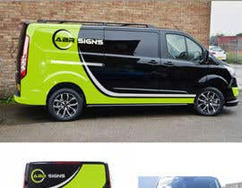#37 for Design graphics and artwork for 2018 Ford Transit Custom van by DesignTed