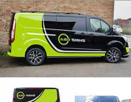 #39 for Design graphics and artwork for 2018 Ford Transit Custom van by DesignTed