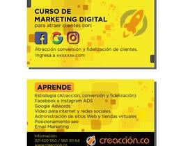 #15 para diseñar tarjeta de presentación a 2 lados (solo freelancer de latinoamerica habla hispana) por brunomanassero