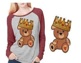 #76 untuk Create a Teddy Bear Logo for a shirt oleh shipahn
