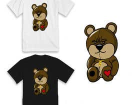 #29 for Create a Teddy Bear Logo for a shirt by SCrafted