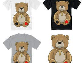 #70 for Create a Teddy Bear Logo for a shirt by SCrafted