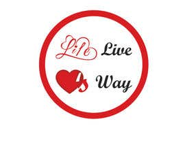 nº 2 pour vector pdf file  for a church - needs to say: Live Life ❤️'s Way   At the bottom edge of the decal and smaller it needs to say: www.loveswaychurch.com Can be circle or oval / sideways oval might look good? Not sure of colors ?Just heart needs to be red. par jakirhossain9246