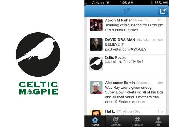 Inscrição nº                                         55                                      do Concurso para                                         Graphic Design for Logo for Online Jewellery Site - Celtic Magpie